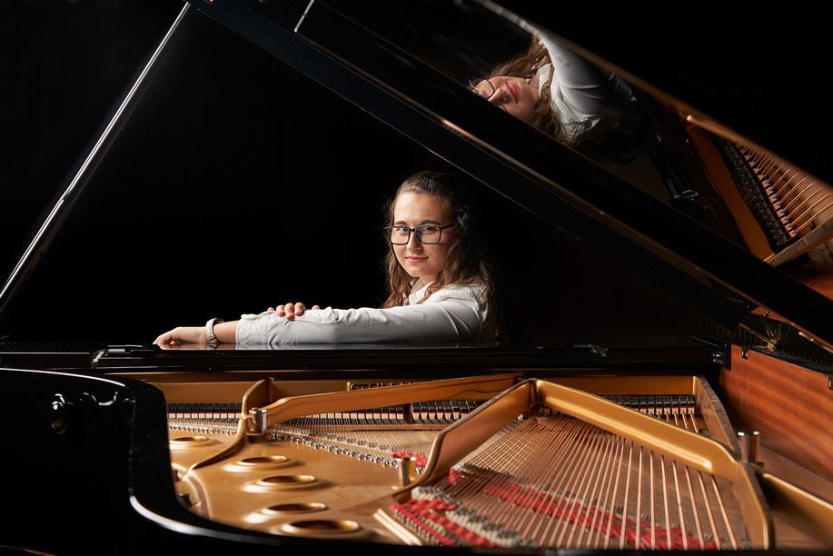 Mélanie Bracale, pianiste