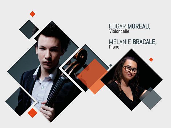 Edfar Moreau et Mélanie Bracale